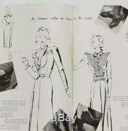 Christian Berard CARL ERICKSON Knitting LUCIEN LELONG Paris Vogue December 1939