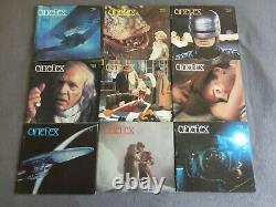Cinefex Magazine Lot 32 Issues 5 6 7 9 11 13 17 19 29 30 32 33 35 36 37 38 39 ET