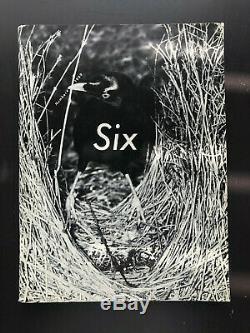 Comme des Garcons Six Number 4 (1989) Large Format Limited Edition Magazine