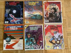 Computer Gaming World & Computer Games Magazine Vintage Lot Of 61984