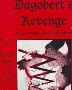 Dagobert's Revenge Magazine Musick Magick Monarchism 3 issue offer, Boyd Rice