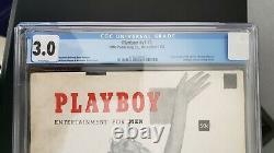 December 1953 Playboy Marilyn Monroe #v1 #1 HMH Magazine CGC Universal 3.0