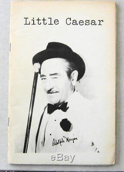 Dennis Cooper Ron Padgett LITTLE CAESAR #2 1977 Scarce Poetry Magazine