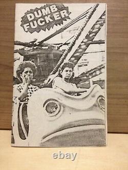 Dumb Fucker #5 Richard Kern september 1982 Original Xerox David Wojnarowicz