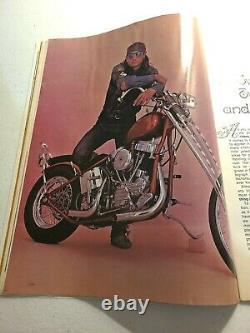 EASYRIDERS MAGAZINE #3 NUMBER 3 October 1971 First David Mann Centerfold