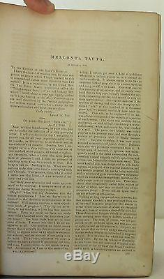 EDGAR ALLAN POE Mellonta Tauta in Godey's Magazine FIRST EDITION