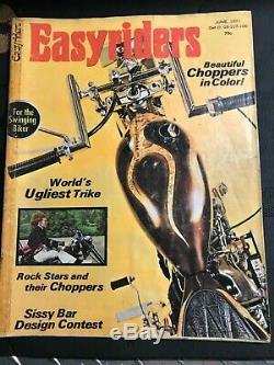 Easyrider Magazine June 1971 first edition