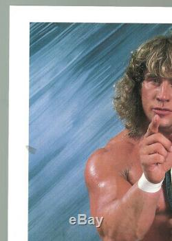 Extremely Rare Kerry Von Erich signed Original WWF Promo JSA Cert