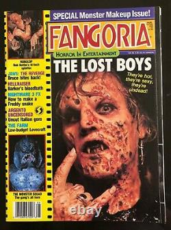 FANGORIA MAGAZINE 66 1987 THE LOST BOYS MONSTER SQUAD VINTAGE UNRD 1st PRT NM
