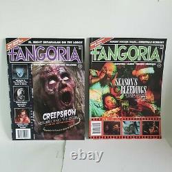 FANGORIA MAGAZINE Vol 2 All Issues 1 -11 Brand New