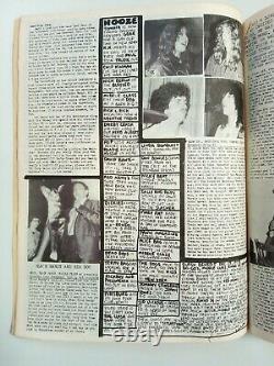 FLIPSIDE # 12 (1979) LA Punk Zine, Middle Class, Weirdos, Joan Jett, Screamers