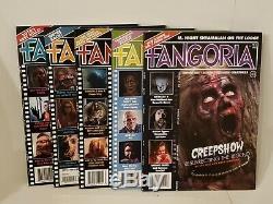Fangoria Magazine Issues 1-5 VOLUME 2 Never Read! Brand New
