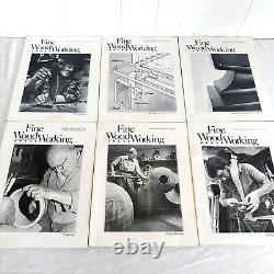 Fine Woodworking Magazines Issues 1-49 Complete In Order Vintage 1975-1984 Index