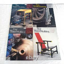 Fine Woodworking Magazines Issues 50-85 Complete In Order Vintage 1985-1990