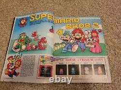 First Issue Nintendo Power Vol. 1 July/August 1988 Super Mario 2 with Poster Mailer