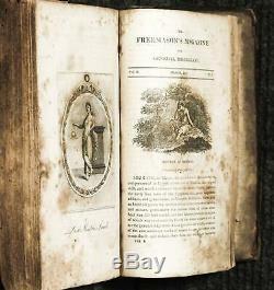 Freemason's Magazine And General Miscellany Volume Ii, Nos 1-6. October, 1811