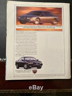 GEORGE Magazine INAUGURAL ISSUE 1st Edition 1995 JFK Jr Cindy Crawford MADONNA