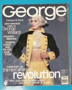 George Inaugural Magazine Oct-Nov 1995, JFK, Jr Editor-in-Chief