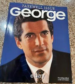 George Magazine Farewell Issue May 2001 Vol. VI No 1 JFK JR