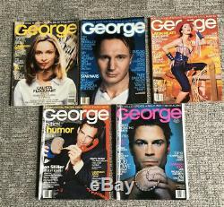 George Magazine Lot (40 Magazines, 1 Duplicate) Years 1995-2000