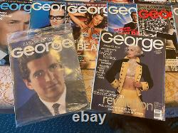 George Magazines Feb 1997-2000. (44) Different Editions. Outstanding Collection