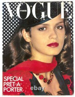 Gia Carangi HELMUT NEWTON Guy Bourdin SARAH MOON French PARIS Vogue April 1979