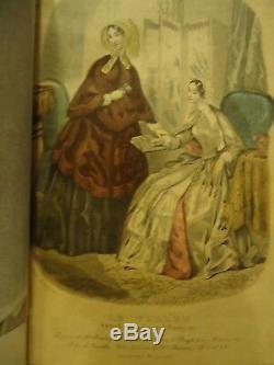 Graham's Magazine Jan. To Jun. 1850 Steel Engravings, Poe Article. Quality
