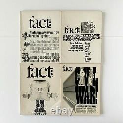 Herb Lubalin 21 Issues Fact Magazine Ralph Ginzburg Graphic Design Typography