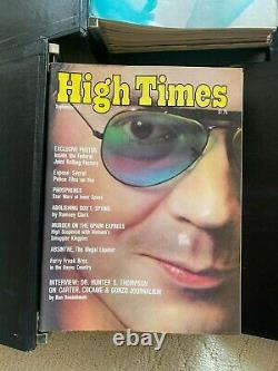 High Times Early Collection, Premiere Issue Included, Original Owner, VG+