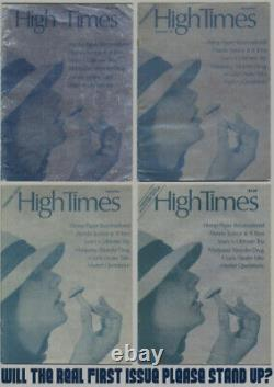 High Times Magazine #1 CGC 4.5 First Print $1 Foil Cover 1/1000 Copies 1974
