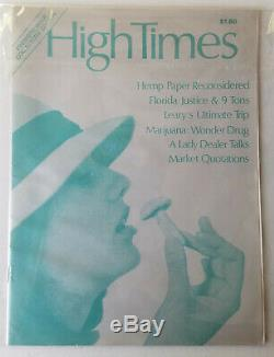 High Times Magazine 1974 Premier Issue Collector's Edition Issue #1