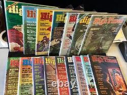 High Times Magazine 37 Issue Lot Summer'74 (1st Issue) Dec 78 Really Nice