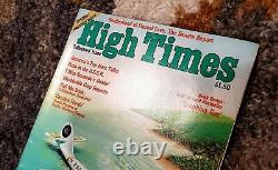 High Times Magazine Premier Set First 3 issues