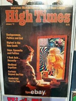 High Times Magazines first edition #1 #30