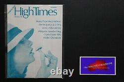 Holy Grail High Times Magazine 1st Premiere Issue Rare Silver Summer 1974