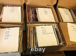 Huge Lot of 382 Vintage Collectors Playboy Magazines 1966-2003