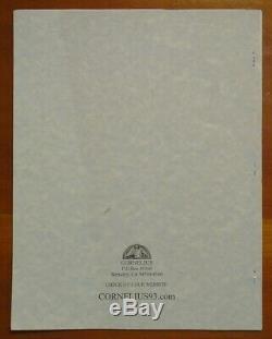 J. Edward Cornelius SIGNED Cornelia Magazine 20 Issues Aleister Crowley