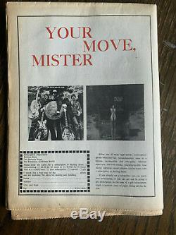 JOHN LENNON & YOKO ONO Two Virgins Rolling Stone Magazine #22 November 23 1968