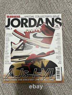 JORDANS Volume 1 2 3 4 Slam Kicks Magazine Collectors Issue Sneakers Jordan 1