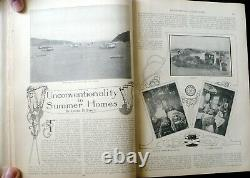 July Dec. 1902 The Delineator Magazine 1100 pp Color Plates Victorian Fashions