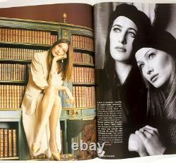 KATE MOSS 1st Vogue magazine CORINNE DAY David Sims BIBA March 1993 vtg BRITISH