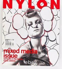KAWS Stephen Sprouse MARK BORTHWICK Mandy Moore NYLON Magazine 2001 February VTG