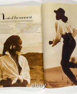 LINDA EVANGELISTA Christy Turlington PETER LINDBERGH Prince VOGUE January 1990