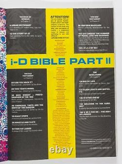 Leigh Bowery CLUB Youth CULTURE Nick Knight i-D magazine BIBLE BOOK Part Two VTG