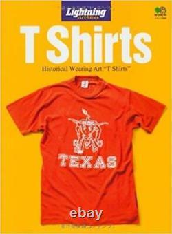 Lightning Archives T Shirts Japanese Men's Fashion Culture Magazine Japan Book