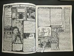 Los Angeles Flipside Punk Fanzine Issue #10 Magazine Plugz X Masque Nm