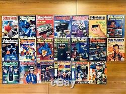 Lot of 20 Vtg Video Game & Computer Entertainment (The Ultimate Gaming Magazine)