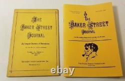Lot of 71 Issues Baker Street Journal (Sherlock Holmes) 1962-1998