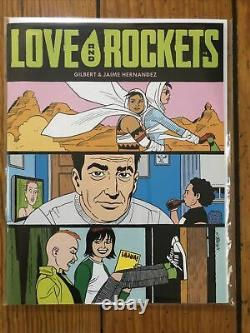 Love & Rockets Magazine Vol IV (2016) 1 2 3 4 5 6 7 8 9 10 with FB Exclusives 2-10