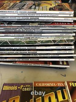 Lowrider Magazine Lot 47 Issues Total 1995- 2001
